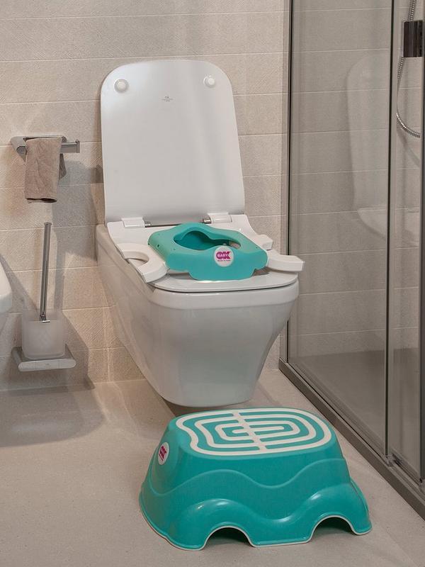 Aqua OKBaby Roady 3-in-1 Potty Travel Potty and Toilet Training Seat