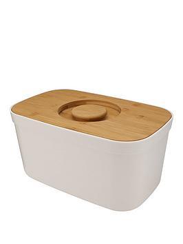 joseph-joseph-white-bread-bin-with-bamboo-lid