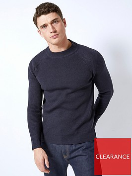 burton-menswear-london-fisherman-jumper-navy