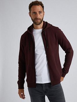 burton-menswear-london-zip-through-hooded-top-burgundynbsp