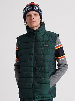 superdry-double-zip-fuji-gilet-green