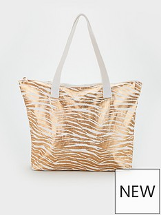 v-by-very-joley-canvas-beach-bag-gold