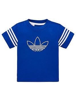adidas-originals-outline-t-shirt-royal-blue