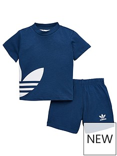 adidas-originals-boys-big-trefoil-short-set
