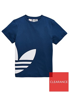 adidas-originals-big-trefoil-tee-marine