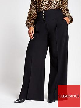 ri-plus-corset-high-waist-wide-leg-trouser-black