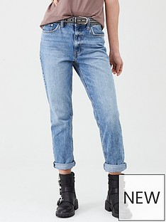 river-island-river-island-high-rise-mom-jean-mid-blue