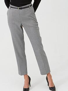 wallis-gingham-trousers-multi