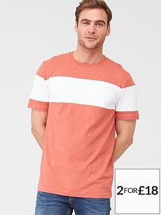 v-by-very-chestnbspslub-t-shirt-coralwhite
