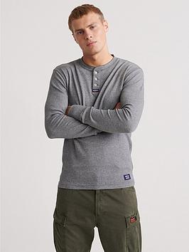 superdry-heritage-long-sleeved-grandad-top-grey