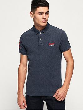 superdry-classic-pique-short-sleevenbsppolo-shirt-navy