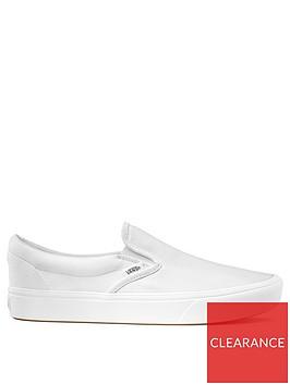 vans-comfycush-slip-ons-white