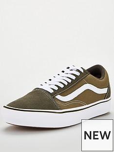 vans-comfycush-old-skool-greenwhitenbsp