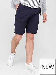 very-man-tech-cargo-shorts-navy