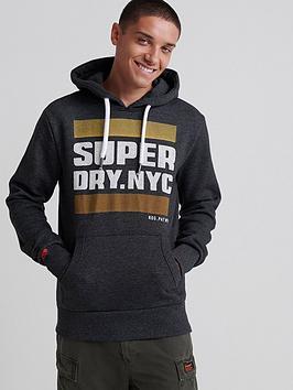 superdry-nyc-tab-hoodie-dark-grey
