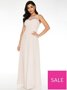 quiz-chiffon-high-neck-embellished-yoke-bridesmaid-maxi-dress-pink