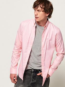 superdry-edit-button-down-shirt-pink