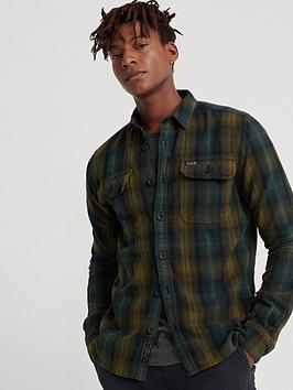 superdry-merchant-milled-long-sleeved-shirt-green