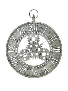 arthouse-gear-skeleton-clock