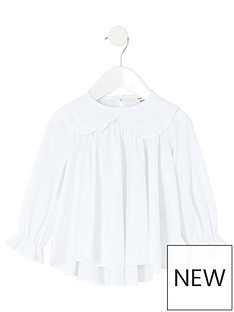 river-island-mini-mini-girls-frill-collar-poplin-shirt-white