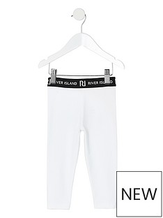 river-island-mini-mini-girls-waistband-legging-white