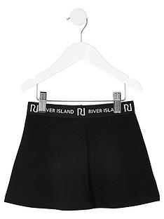 river-island-mini-mini-girls-waistband-flippy-skirt-black