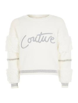 river-island-girls-faux-fur-couture-jumper-white