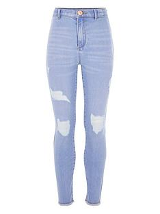 river-island-girls-kaia-high-rise-skinny-jegging--light-blue