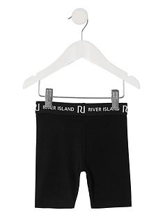 river-island-mini-girls-waistband-cycling-shortsnbsp-nbspblack