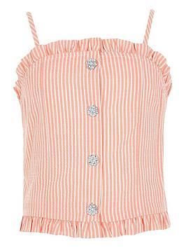 river-island-girls-stripe-diamante-buton-cami-top