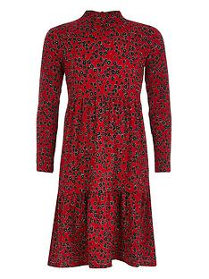 river-island-girls-floral-smock-dress-red