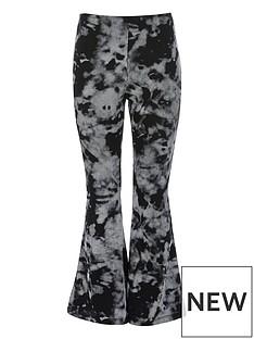 river-island-girls-tie-die-flarred-trousers--black