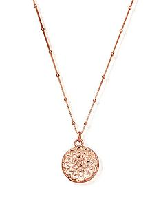 chlobo-sterling-silver-rose-gold-plated-moon-flower-necklace