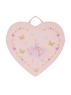 monsoon-girls-lovely-ballerina-heart-backpack-pink