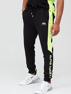 alpha-industries-alpha-industries-contrast-stripe-neon-insert-joggers