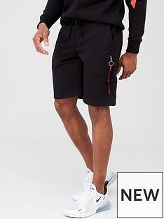 alpha-industries-alpha-industries-x-fit-sweat-cargo-shorts