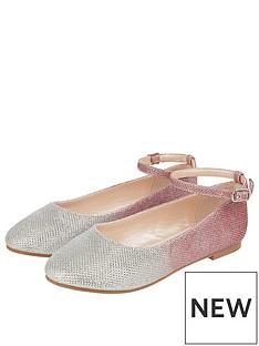 monsoon-girls-alexa-ombre-ballerina-shoes-silver
