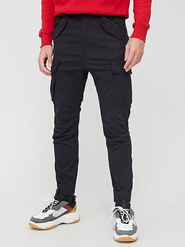 alpha-industries-airman-cargo-trousers-black