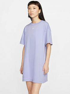 nike-nsw-essentials-t-shirtnbsp-dress-thistlenbsp