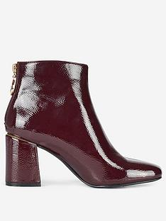 dorothy-perkins-dorothy-perkins-wide-fit-patent-block-heel-ankle-boots-oxblood