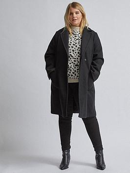 dorothy-perkins-dorothy-perkins-curve-black-pocket-wrap-coat