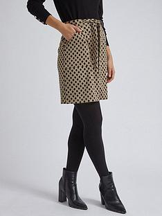 dorothy-perkins-dorothy-perkins-spot-mini-skirt-camel