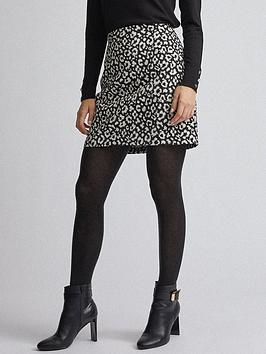 dorothy-perkins-mono-jacquard-mini-skirt-multinbsp
