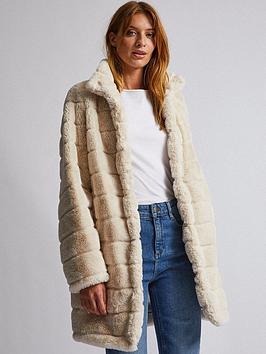 dorothy-perkins-dorothy-perkins-cream-pelted-faux-fur-coat-cream