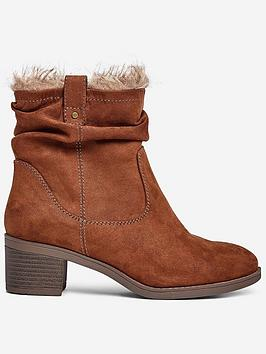 dorothy-perkins-dorothy-perkins-wide-fit-moscow-ruched-ankle-boots-tan