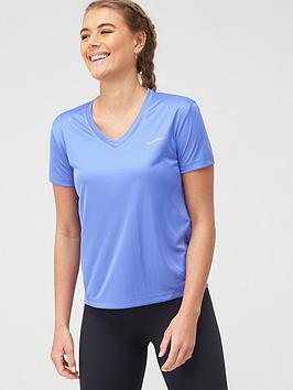 nike-running-v-neck-miler-t-shirt-sapphire