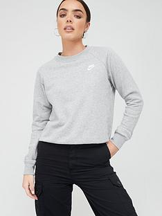 nike-nsw-essentials-sweatshirt-dark-grey-heathernbsp