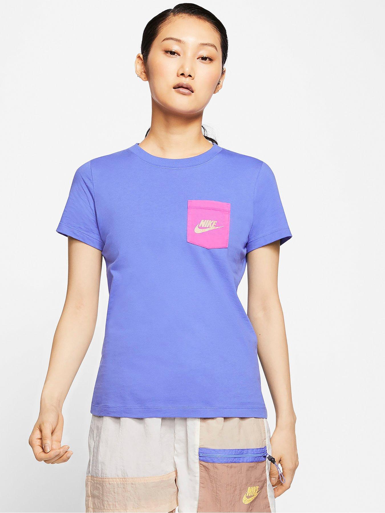 Nike Boys Still Fresh Futura Graphic Cotton Shirt Blue//Silver New