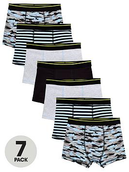v-by-very-boys-7-pack-print-trunks-print