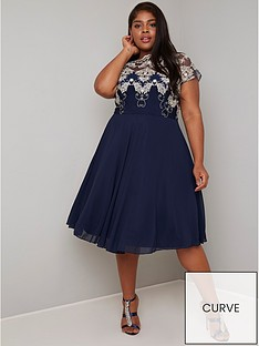 chi-chi-london-curve-riara-dress-navy